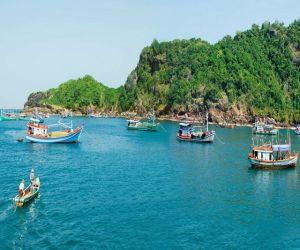 Cùng ngắm vẻ đẹp hoang sơ của đảo Hòn Khoai