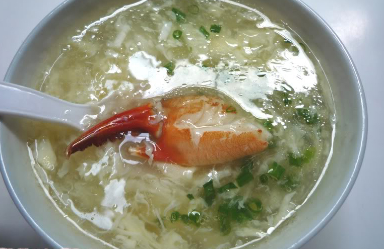 Sup cua biển Cà Mau