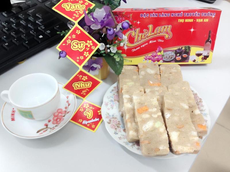 Bánh chè lam – món quà thôn quê dân dã