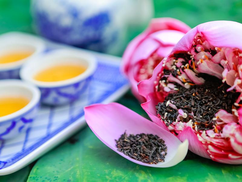"""Trà sen Tây Hồ """"thiên cổ đệ nhất trà"""" - món quà trân quý của người Hà Thành"""